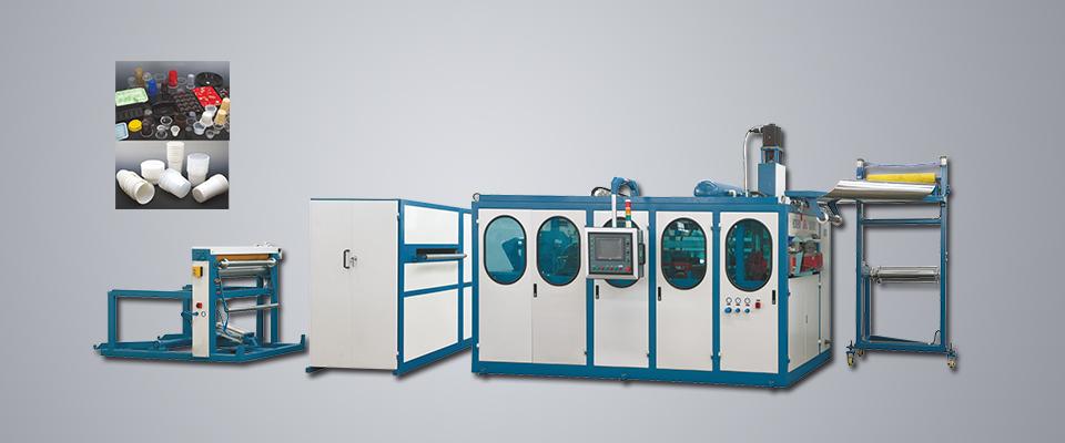 HSC-660D塑料热成型机