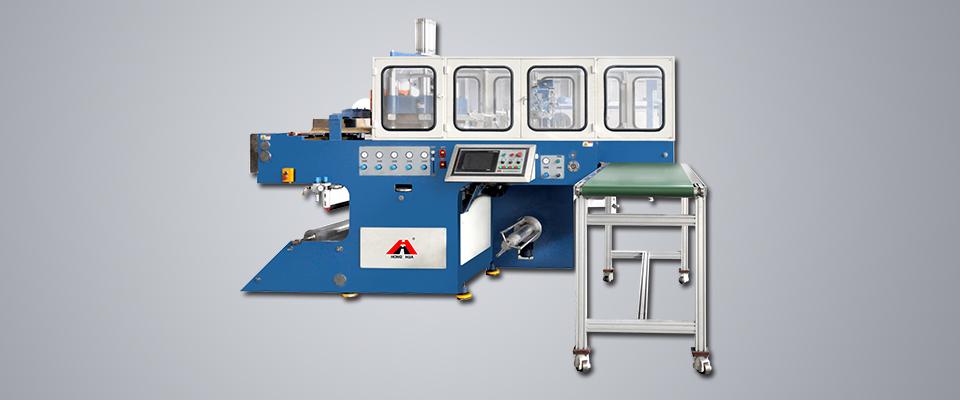HSC-510570C塑料气压热成型机(自动堆垛)